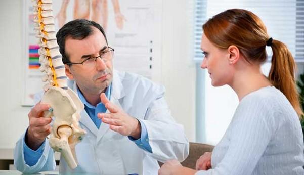 на консультации у врача по диагностике