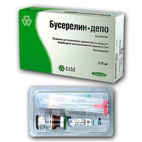 Назначен бусерелин депо при менопаузе