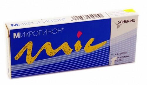 Микрогинон упаковка