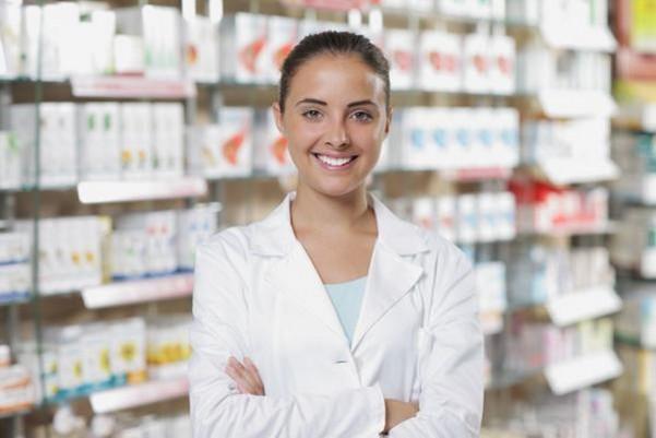 фармацевт девушка