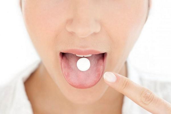 Прием таблетов