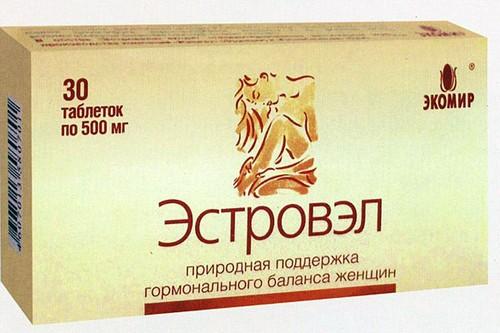 упаковка эстровэла