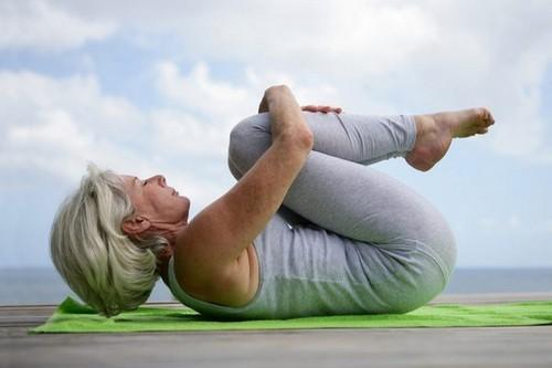 упражнения йоги при менопаузе