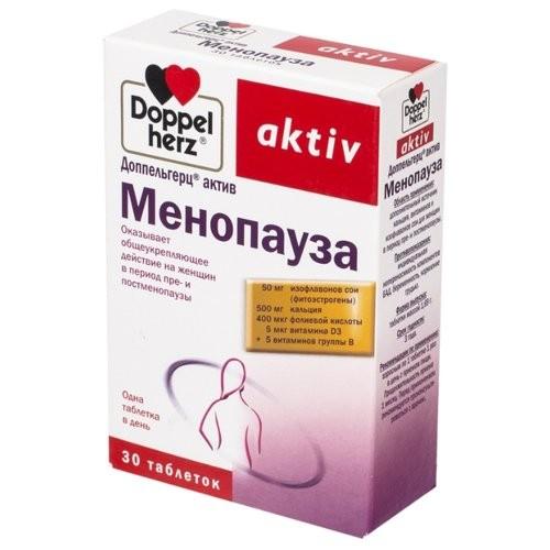 Доппельгерц менопауза упаковка